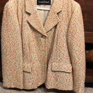 Louis Feraud Jackets & Coats - Light tweed blazer